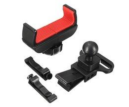 Anti-slip Verstelbare Telefoonhouder Voor In De Auto