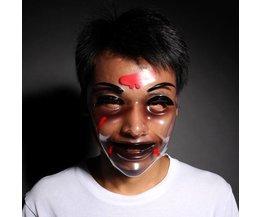 Transparant Halloween Masker