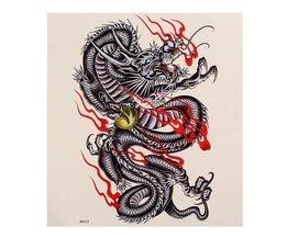 Chinese Draak Plaktatoeage