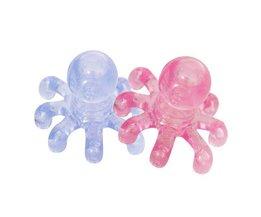 Plastic Massage Octopus