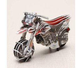 Racemotor Bouwpakket met Opwind Motor