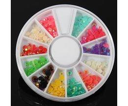 Glitter Steentjes voor Nail Art