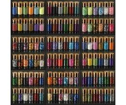 Flesjes Glitter voor Nagelversiering