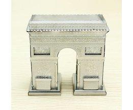 ZOYA Metalen Arc De Triomphe 3D Puzzel