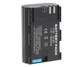 Oplaadbare Batterij voor Canon