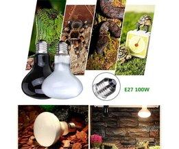 100W UVA Warmtelamp voor Terrarium