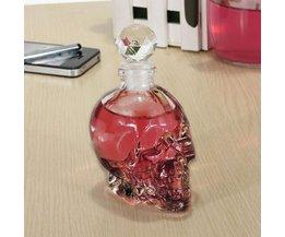 Mondgeblazen Schedel Fles