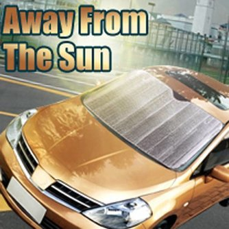 Zonnescherm voor Voorruit Auto van Zilverfolie