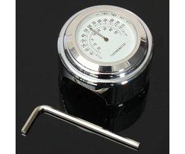Waterdichte Thermometer voor op je Motorfiets