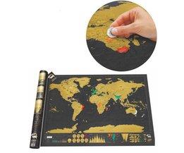 Luxe Wereld Kraskaart