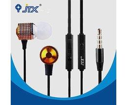 JTX JL520 Oortelefoon met Microfoon Handsfree met Super Basgeluid