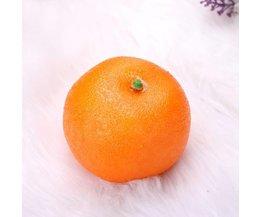 Sinaasappel Namaak Fruit 5 Stuks