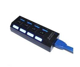 USB Hub Met Schakelaar