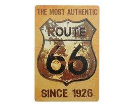 Route 66 Bord