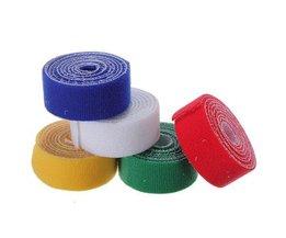 Klittenband Tape Zelfklevend (1m)