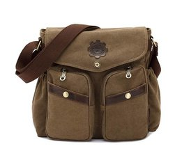 Canvas Messenger Tas