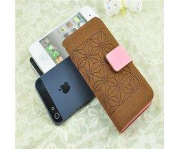Portemonnee Hoesje voor iPhone 5