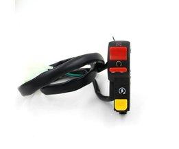 Schakelaar Motor voor Bedienen van Lichten, Knipperlichten en Claxon