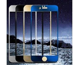 Gekleurde Screenprotector Voor iPhone 6