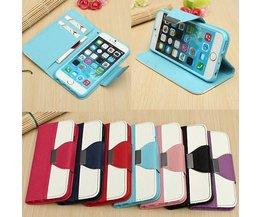 Portemonnee Hoes iPhone 6 In Verschillende Kleuren