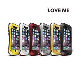 Love Mei Metalen Aluminium Hoesje voor iPhone 6