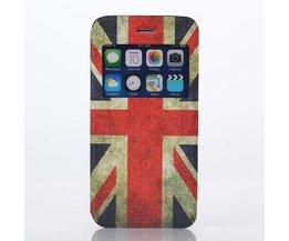 Hoesje Met Vlag UK Voor De iPhone 6 Plus