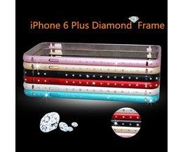 Bumper Met Diamantjes Voor iPhone 6 Plus