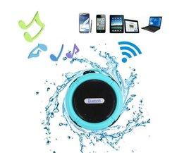Waterproof Bluetooth Speaker met Microfoon