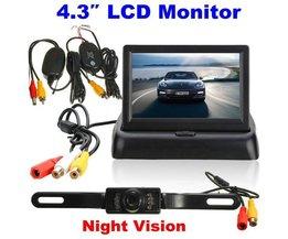 Auto Video Monitor LCD