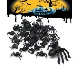 Speelgoed spinnen 50 stuks
