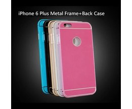 IPhone 6 Plus Bumper Met Backcover