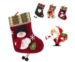 Decoratieve Kerstsok voor deze Kerst