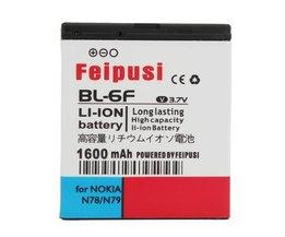Batterij voor Nokia N78/N79