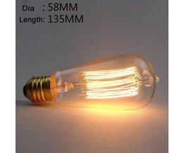 Edison Gloeilamp ST58 E27