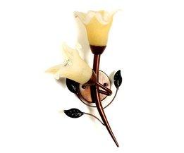 Bloemen Muurlamp