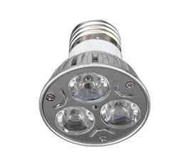 E27 3W LED Lamp in het Rood & Etc