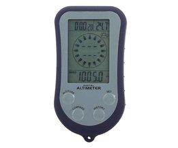 Hoogtemeter Manometer Kompas Hoekmeetinstrument 8 in 1 Digitaal LCD
