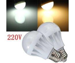 Ledlamp E27 220V