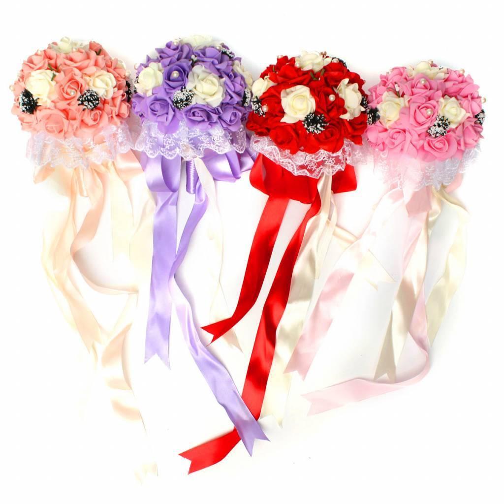 Bruidsboeket met Kunstbloemen kopen? I MyXLshop (Tip)