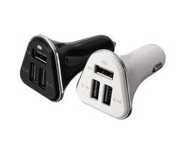 Autolader met 3 USB Poorten