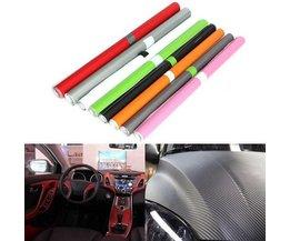 Carbon Fiber Vinyl Wrap voor de Auto