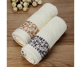 Katoenen Handdoek Met Print 33 X 74CM