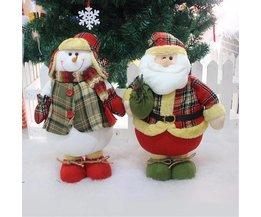Kerstmis Decoratie Pop 45CM Kerstman Sneeuwman