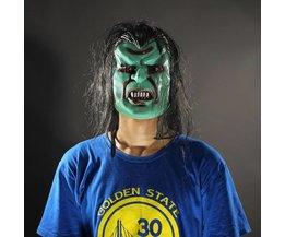 Monster Masker in de Kleur Groen of Blauw
