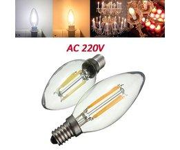 E14 COB Retro LED Lamp 4W