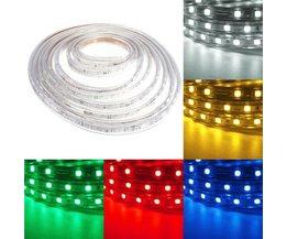 Waterbestendig LED Snoer In Verschillende Kleuren 5M