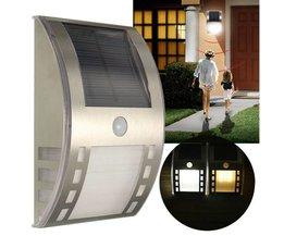 Bewegingslamp Op Zonne-Energie Voor Buiten