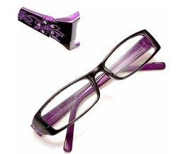 Moderne Leesbrillen in Paars
