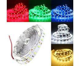 4M Flexibele LED Strip In Verschillende Kleuren