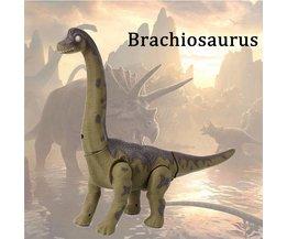 Plastic Dinosaurus voor Kinderen met Licht & Geluid